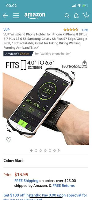 sports wristband phone holder for Sale in El Monte, CA