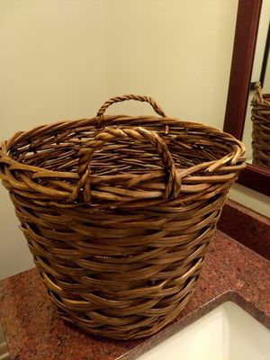 Basket wicker storage plant for Sale in Chicago, IL