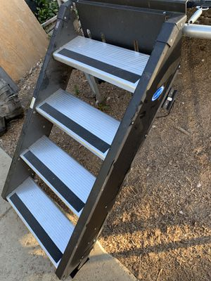 Travel trailer fifth wheel heavy duty stairs for Sale in Westlake Village, CA