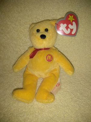 Ty Beanie Bear McDonalds Happy Meal Toy for Sale in Port Huron, MI