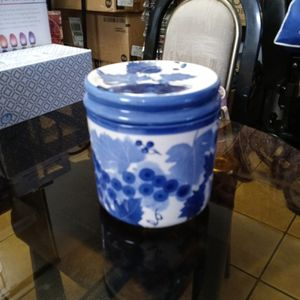 Blue And White Floral.Canister. for Sale in Phoenix, AZ