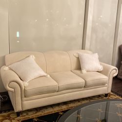 """90"""" Rolled Arm Sofa for Sale in Pittsburgh,  PA"""