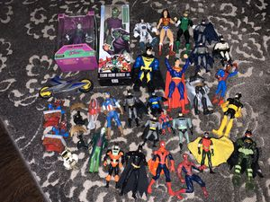 Marvel DC action figure lot for Sale in Stoughton, MA