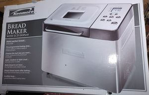 Kenmore Bread maker with LCD display (New) for Sale in East Petersburg, PA