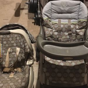 Graco - Stroller And Infant Car Seat With Base for Sale in Marietta, GA