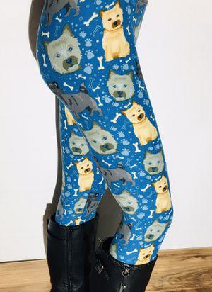 New Yorkie Dog Leggings Soft as Lularoe for Sale in Saginaw, MI