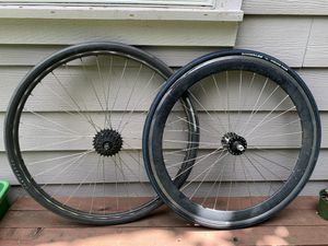 700c wheelset w/tires for Sale in Portland, OR