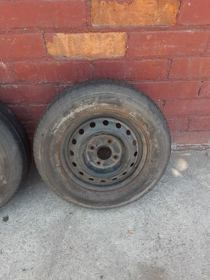 4 like new rims & tires 185 / 70 / 14 for Sale in Los Angeles, CA