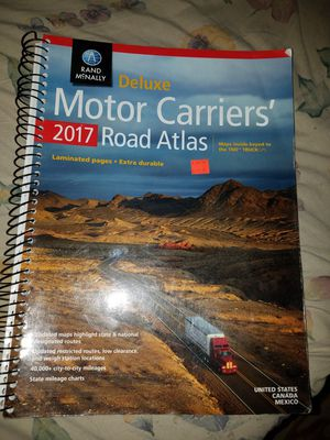 very nice Carrier's Atlas for Sale in Mercedes, TX