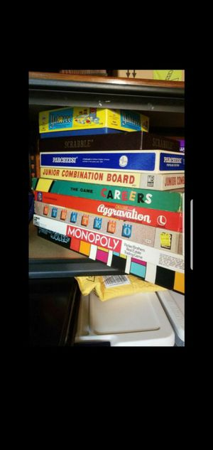 Vintage board games (set of 9) for Sale in Alexandria, VA