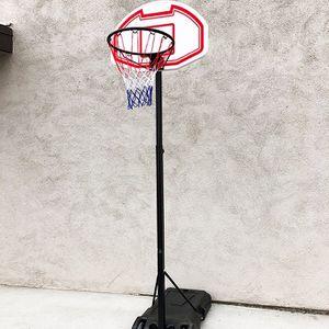 "New in box $50 Kids Junior Sports Basketball Hoop 28x19"" Backboard, Adjustable Rim Height 5' to 7' for Sale in El Monte, CA"