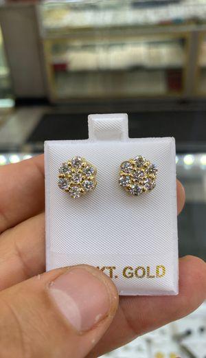 Flower Diamond Earrings for Sale in Los Angeles, CA