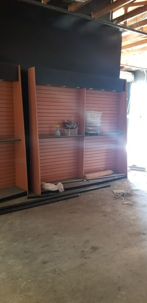 Wall shelving 7 by 7 feet for Sale in Lemon Grove, CA