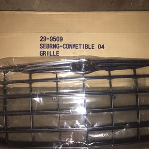 Chrystler Sebring convertible Front 04 Grille Brand New In Box for Sale in Pekin, IL
