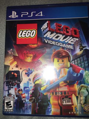 The Lego Movie Video Game PS4 for Sale in San Diego, CA