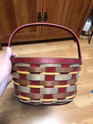 Longaberger Basket: Crimson Hill Oval for Sale in Vancouver, WA