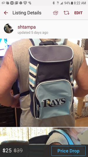 Ray's new insulated backpack for Sale in Tampa, FL