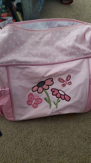 Pink baby girl carrying diaper bag for Sale in Westchester, CA