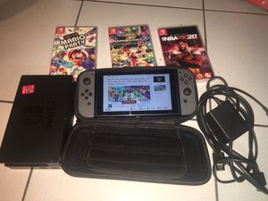 Nintendo switch w/ 4 games for Sale in Avondale, AZ