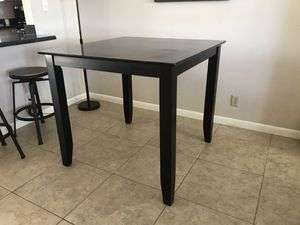 Square counter height dining table for Sale in Tempe, AZ