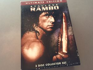 Rambo DVD Ultimate Collection for Sale in Costa Mesa, CA