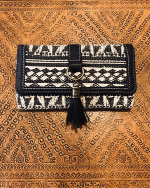 Black and White Boho Wallet for Sale in Phoenix, AZ