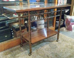 Old Metal Tea Cart for Sale in Blackstone, MA