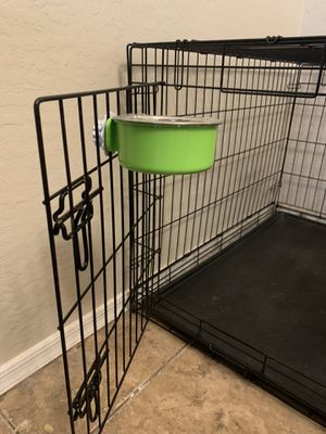 Pet food bowls for crates/cages for Sale in Goodyear, AZ