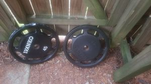 Ivanko 45s plates for Sale in Cary, NC