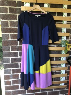 Boden USA women's size 8 color block midi dress for Sale in Parkville, MD