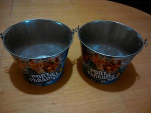 * Bud Light beer Port of paradise 4 here we go beer ice buckets for Sale in Washington, DC
