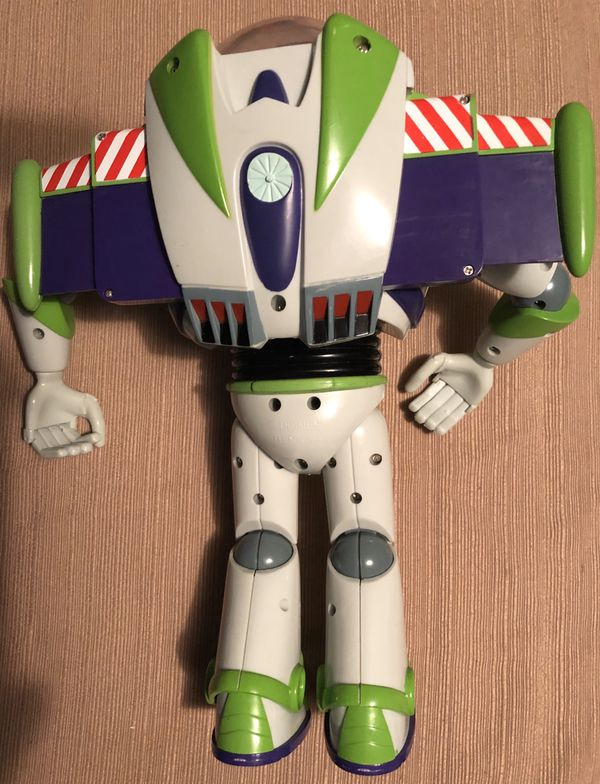 Original 1995 Toy Story Talking BUZZ LIGHTYEAR Figure from Thinkway