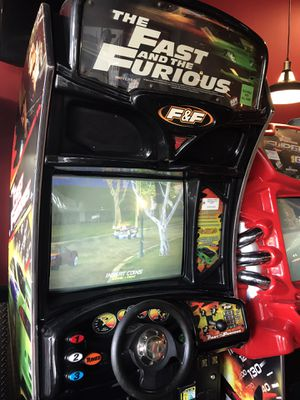 The Fast and the Furious Arcade Driving Video Game for Sale in North Miami Beach, FL