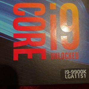 Intel i9-9900k for Sale in Ann Arbor, MI