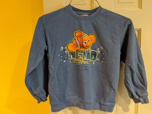 Finding Nemo Kids Sweatshirt Disney Light Blue Youth Size Medium 7/8 Pixar for Sale in Mercer Island, WA