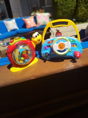 Baby Toddler Toys Pair Learning Fun! for Sale in San Diego, CA