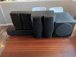 Onkyo 5.1 speakers (KLH sub) for Sale in Seattle, WA