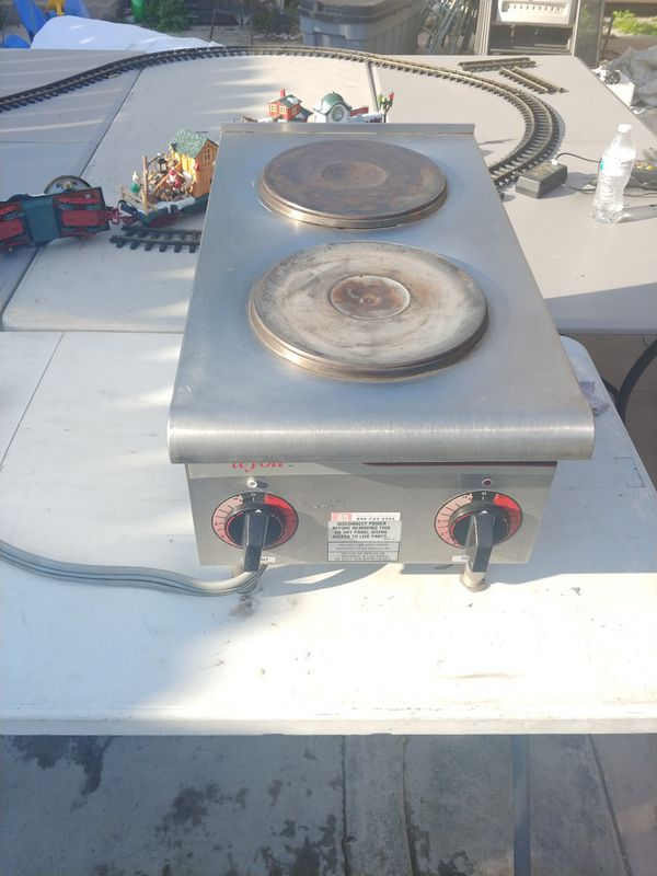 Two burner electric stove