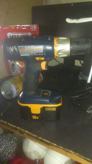 Ryobi 18V drill with battery for Sale in Ontario, CA