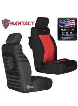 Trek Armor (Bartact) 2011-12 Jeep Wrangler JK/JKU Front Molle Seat Covers (Pair) for Sale in Glendora, CA