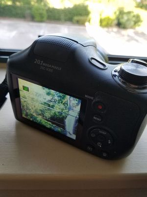 Sony Camera 20.1mp 35x zoom for Sale in Houston, TX