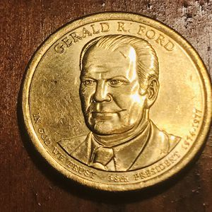$1, US presidential coin Gerald R Ford for Sale in Charlotte, NC