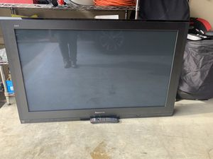 "Panasonic 55"" TV with remote. Works great! for Sale in Cumming, GA"
