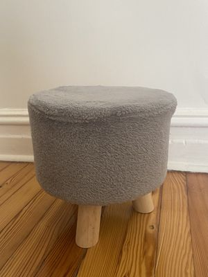 Mini Fuzzy Stool for Sale in Jersey City, NJ