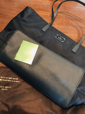 Like new Kate Spade black tote w/ dust bag for Sale in Silver Spring, MD