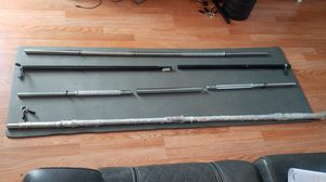"""5 and 6 foot Standard 1"""" weightlifting barbells for Sale in Montebello, CA"""