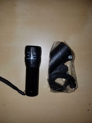 Bright adjustable bike/bicycle/cycling flashlight for Sale in Renton, WA