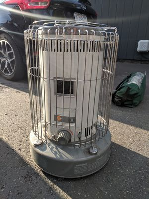OBO **need to sell** Big outdoor Kerosene heater works great! Perfect for camping camp outdoor warm heat tent yard for Sale in Parkland, WA