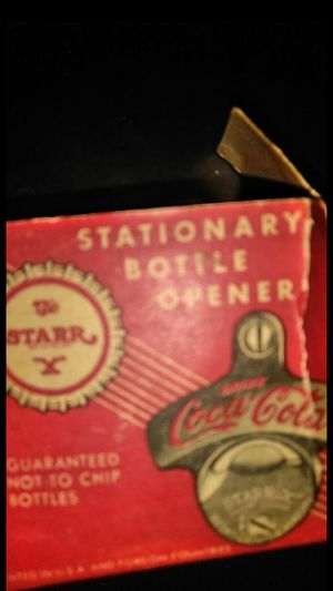 Coca Cola Antique Bottle Opener for Sale in Columbus, OH