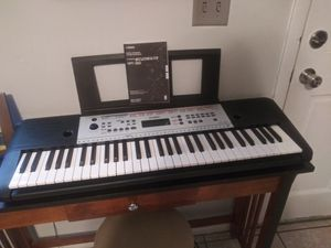 Yamaha keyboard with grand piano setting.(doesnt include table and stool) for Sale in Tampa, FL